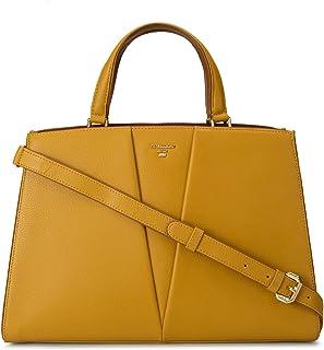 Yellow Vianna Satchel Bag