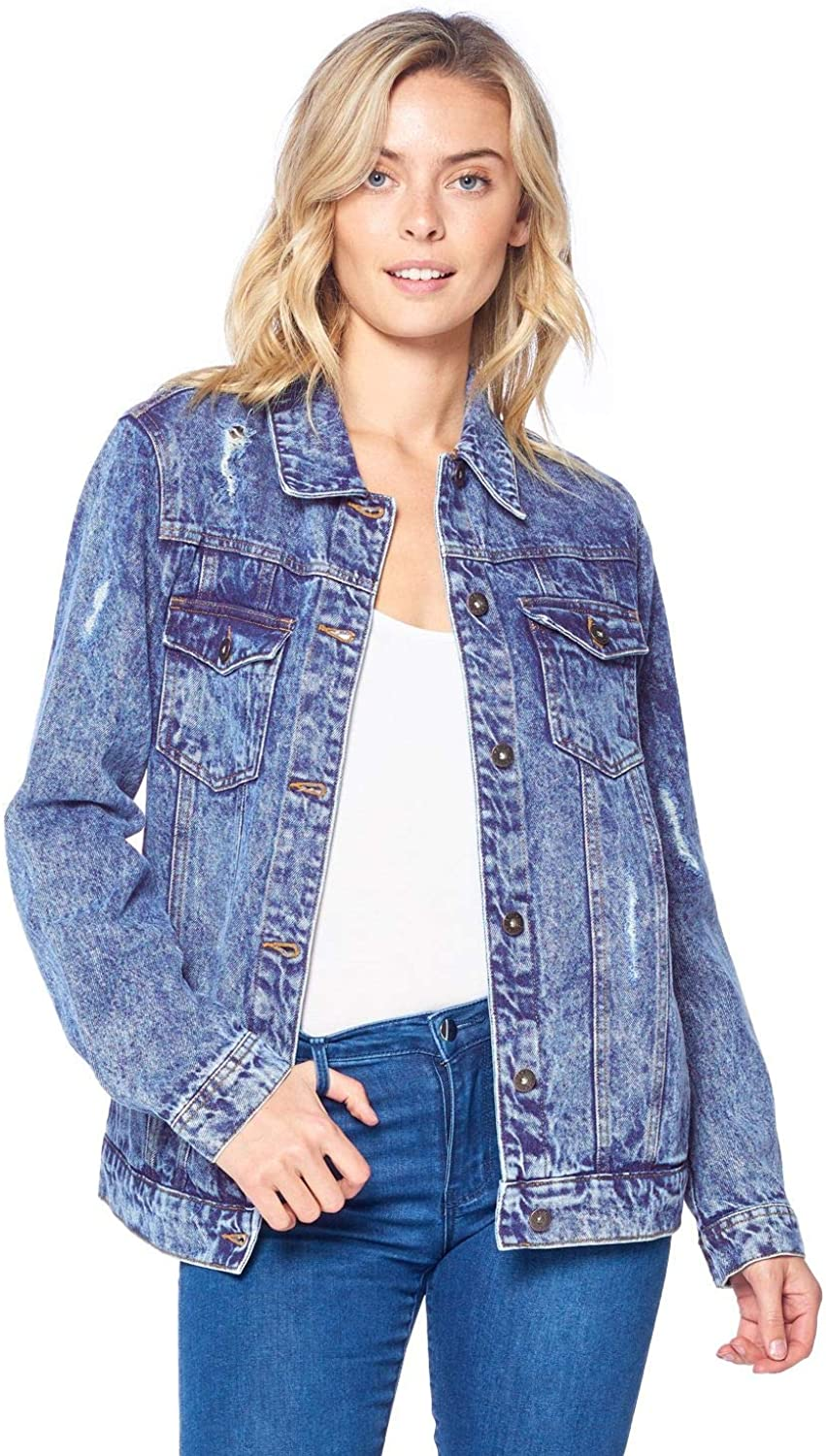 ICONICC Women's Denim Jacket low-pricing Jean New mail order