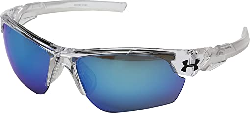 Crystal Clear/Frosted Clear Frame/Gray/Blue Multiflection Lens