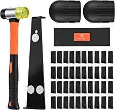 One Sight Upgraded Professional Laminate Wood and Vinyl Flooring Installation Tools Kit with Reinforced Mallet, Upgraded P...