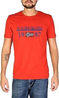 Napapijri Men's Cotton T-Shirts, N0YI8FA60