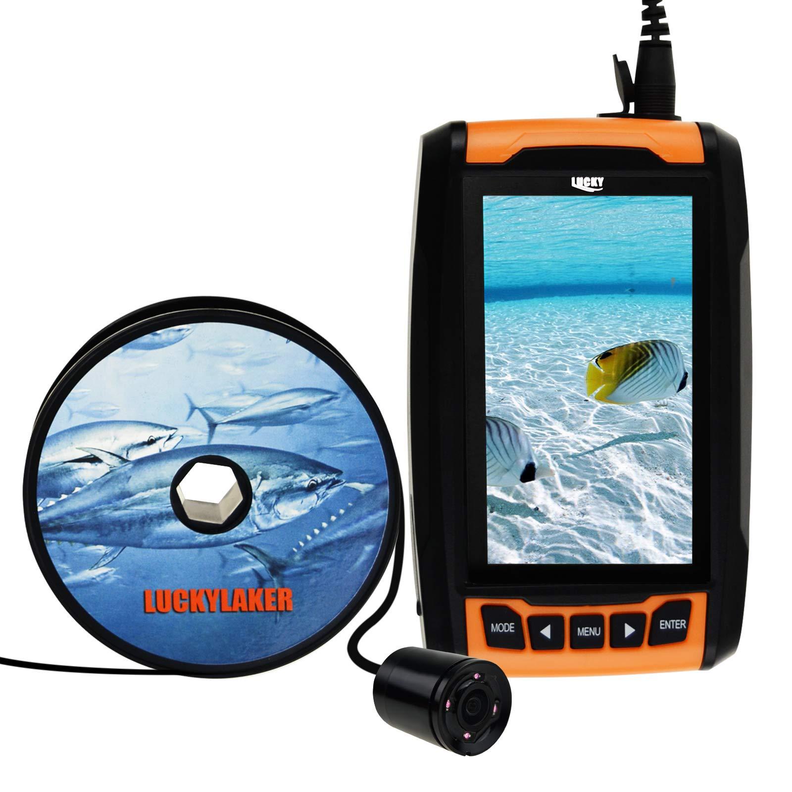Underwater Locator Display Capture Rechargeable