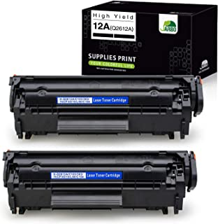 JARBO Compatible Toner Cartridges Replacement for HP 12A Q2612A, Use with Laserjet 1020 1012 1022 1010 1018 1022n 3015 303...