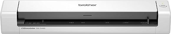 Scanner portatile, a4 con fronte/retro dual cis, risoluzione 600 x 600 dpi brother ds740d DS740DTJ1