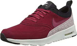 Best air max thea premium leather sneakers burgundy Reviews
