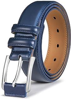 BULLIANT Cintura Uomo, Cinture Pelle da Golf per Jeans,Pantaloni Casual o Formali,Confezione Regalo