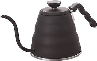 Hario VKB-100HSV V60 Bouno Kaffeetropfkessel Schwanenhals 1.2 liter Matt Black