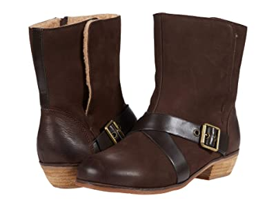 SoftWalk Rayne (Dark Brown Leather) Women