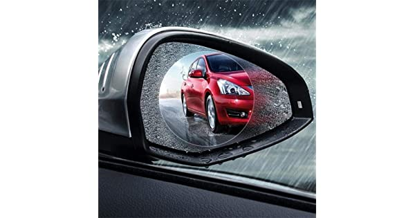 9595mm 2 HD Anti-fog Anti-glare Anti-scratch Waterproof Universal Auto Back Mirror Screen Nano Protective Films Car Rearview Mirror Rainproof Film