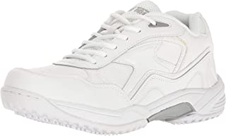 Adtec Men's 9632 Uniform Athletic Lace up White Work Shoe