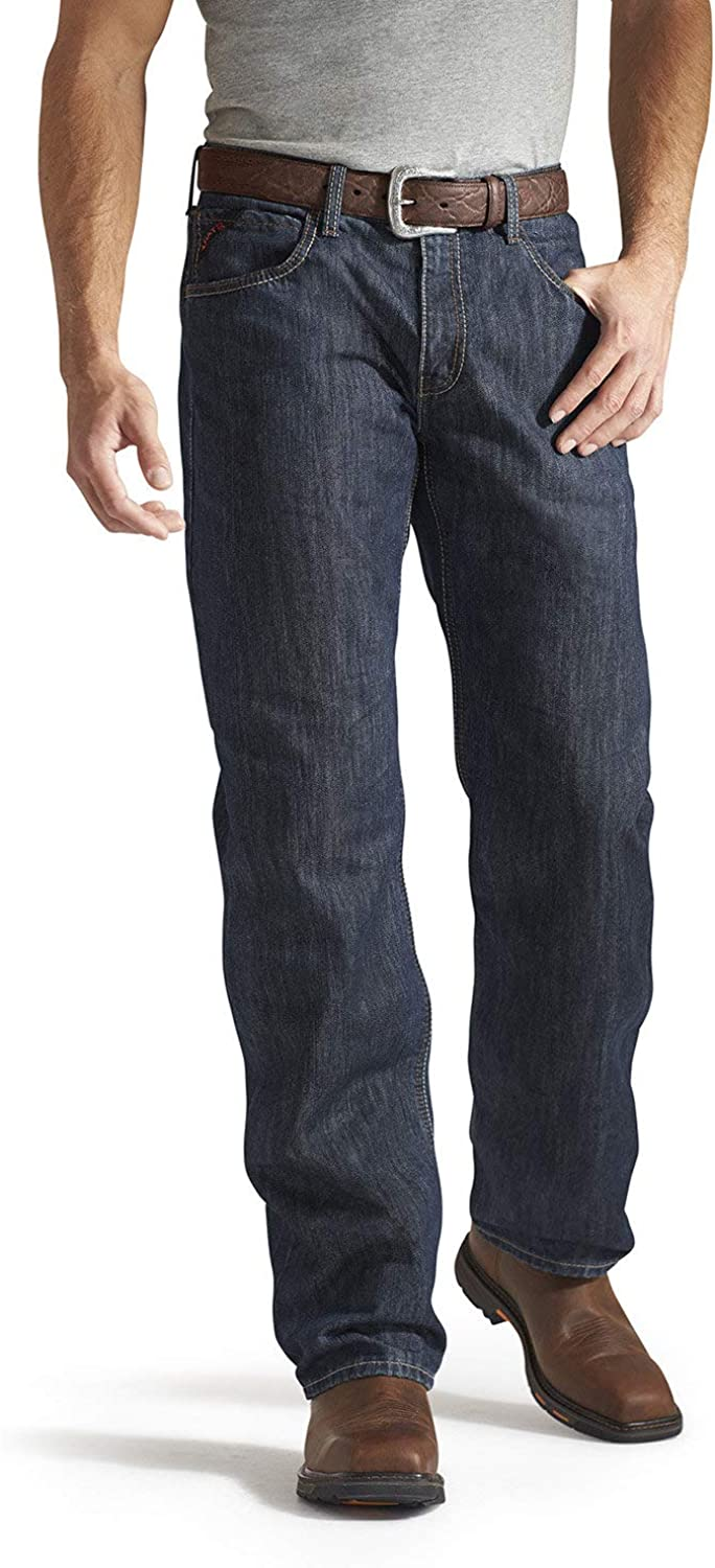 Sale SALE% OFF Sale Special Price Ariat FR M3 Loose Basic Stackable Jeans Men's Tra Straight Leg -