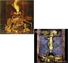 Arise - Chaos A.D. - Sepultura 2 CD Album Bundling
