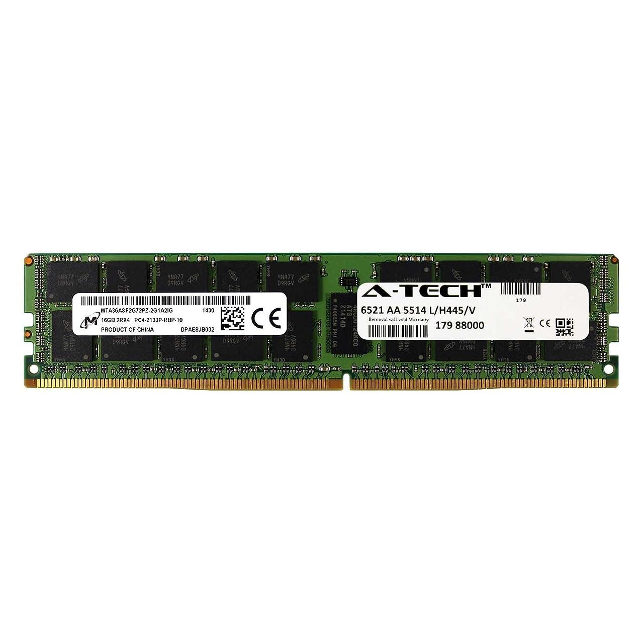 DDR4 Micron by A-Tech 16GB Module 2Rx4 PC4-17000 2133MHz Dell PowerEdge R730xd R730 R630 T630 R430 R530 C4130 SNP1R8CRC/16G A7910488 A7945660 370-ABUK SNP1R8CRC/16G-A1 1R8CR RDWTP 01R8CR Memory RAM