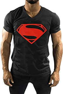 Fitness Series Mens 2.0 V-Neck T-Shirts Cotton Short Sleeve