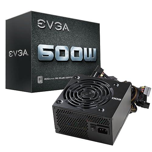 EVGA 600 W1, 80+ WHITE 600W, Netzteil 100-W1-0600-K2