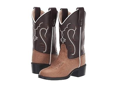 Old West Kids Boots Bella (Toddler/Little Kid) (Dark Pink Glitter) Cowboy Boots