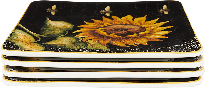 Dallas Mall Certified International French Sunflowers Plate 8 Salad 35% OFF Dessert