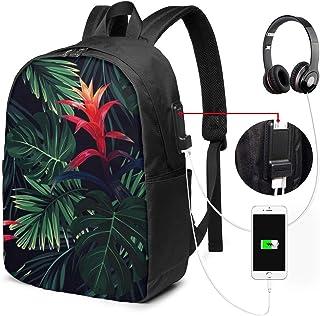 SNFDFS Mochila Bolsas con Puerto USB 15,6 Pulgadas, Moda Mochila De Viaje Camping Casual Mochila Vaca Hermoso Toro Mochila Escolar Mochila