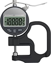 Neoteck Digital Thickness Gauge 0.5 inch/12.7mm, 0.0005