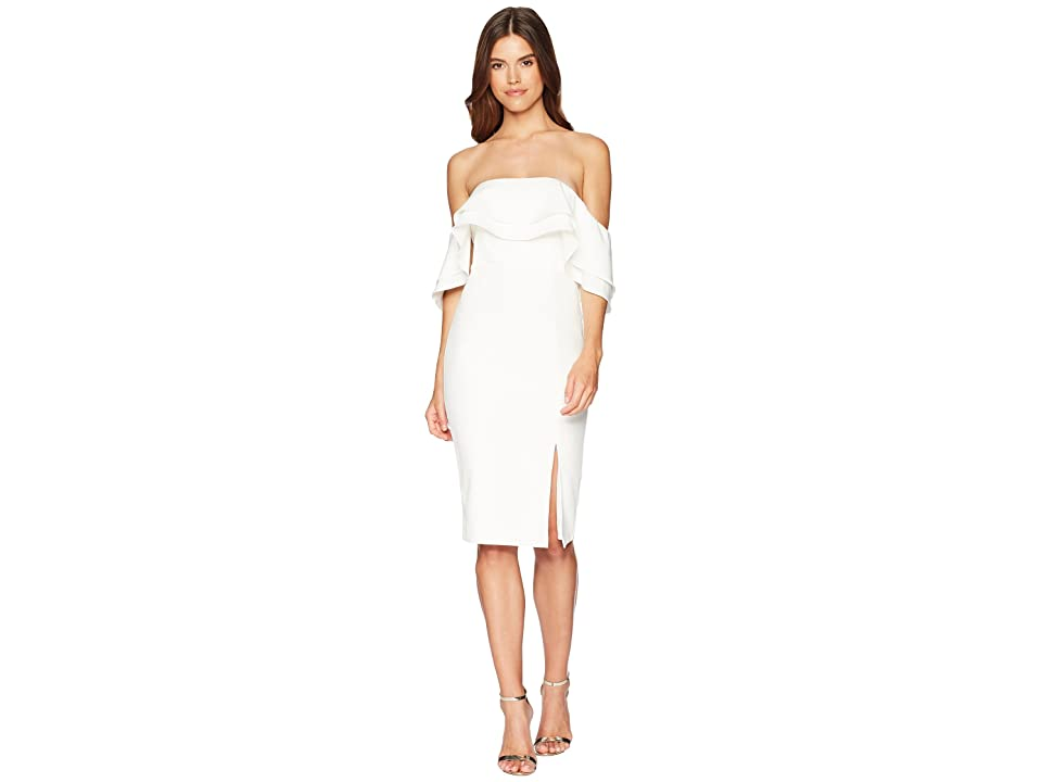 Bardot Band Dress (Ivory) Women