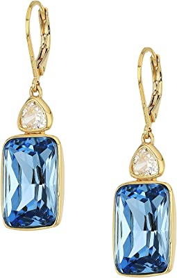 Cole Haan - Double Stone Lever Back Earrings