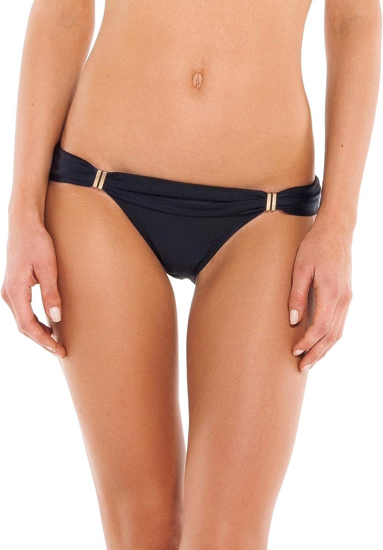 ViX Paula Hermanny Women's Solid Bia Tube Full Bikini Bottom