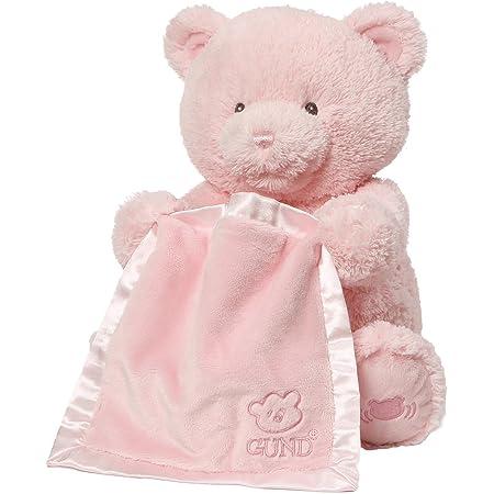 Enesco Peluche Gund Baby il Moi Primo Teddy, Rosa Francese, 29 cm, Poliestere, Rosa, 20.5x20.5x29 cm