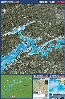 Navionics waterproof Premium HotMaps Cherokee Lake Bundle (North and South). Model: MPS6005