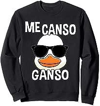 Playera Me Canso Ganso AMLO Lopez Obrador T Shirt Sweatshirt