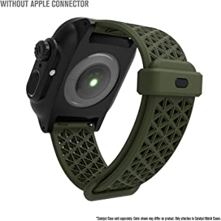 Catalyst - for Apple Watch Band Series 5/4/3/2/1 by Catalyst, Sport Band for Apple Watch 42mm 44mm Cases by Catalyst ONLY, Hypoallergenic, Breathable, Wristband Strap Replacement Band - Army Green