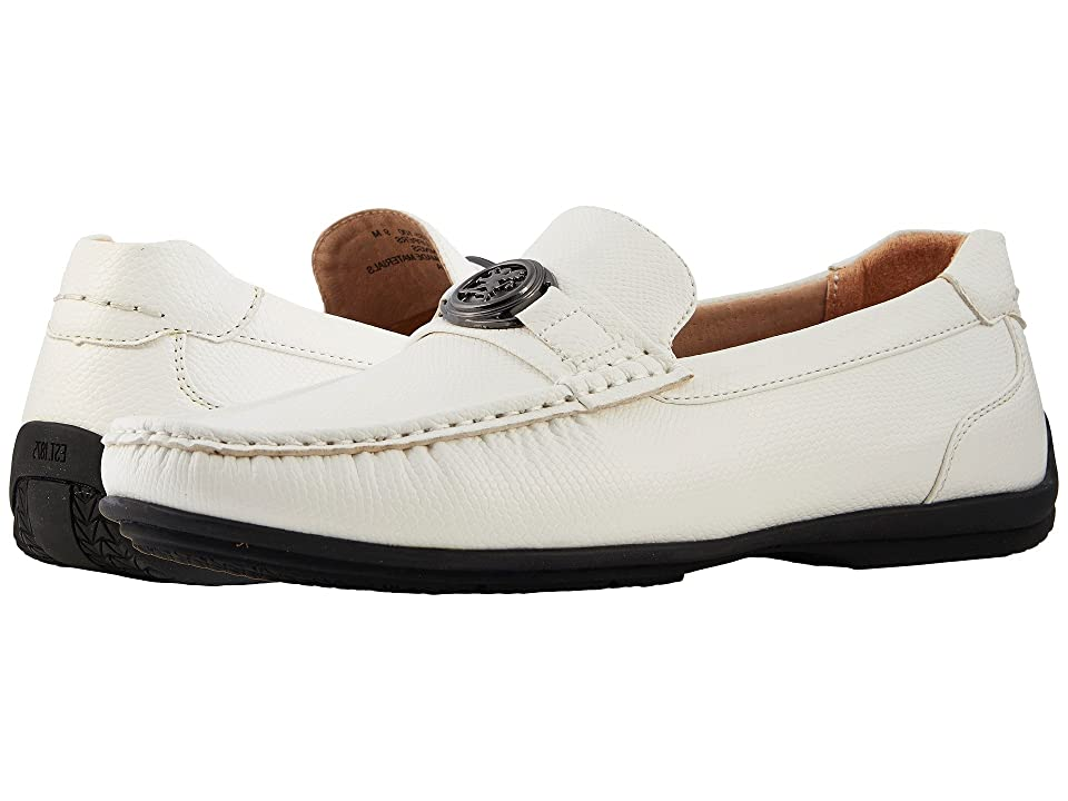 Stacy Adams Cyprus Slip On Casual Loafer (White) Men