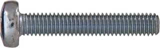 The Hillman Group 2840 M6-1.00 x 16-Inch Metric Pan Cheese Phillips Machine Screw, 10-Pack