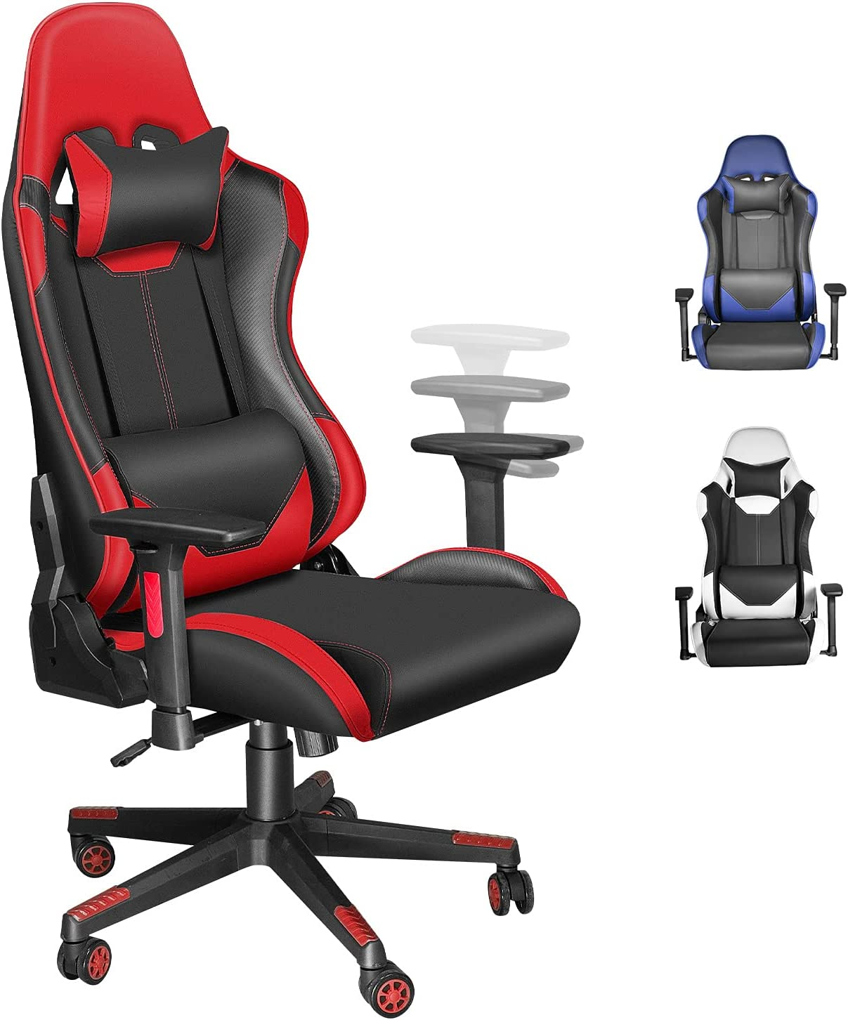 Los Angeles Mall Ergonomic Gaming Chair Computer for or 3 Adults with Teens Surprise price