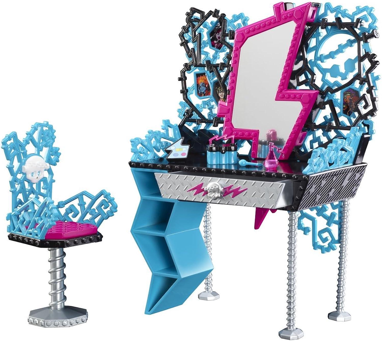 Mattel Monster High Y0404 -  Frankie Steins Frisierkommode, mit viel Zubehör B008B68IBI Bunt, | Moderne und stilvolle Mode