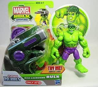 Super Hero Adventures Marvel Playskool Disc-Launching Hulk