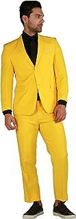 notch slim lapel suit