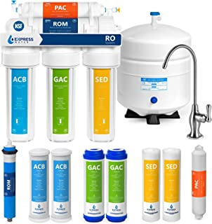 Express Water Reverse Osmosis Water Filtration System – NSF Certified 5 Stage RO Water..