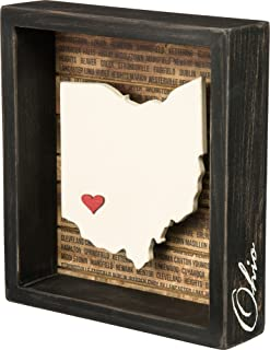 wooden state signs