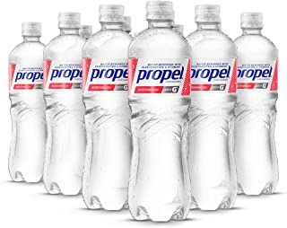 Propel, Watermelon, Zero Calorie Water Beverage with Electrolytes & Vitamins C&E, 24 Fl Oz (Pack of 12)