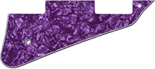 Musiclily Electric Guitar Pickguard for Gibson Les Paul Modern Style Guitar Parts, 4Ply Pearl Purple