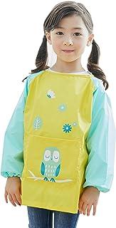 Überwurf Kleidung Abwischbar Drei Aufdruck Alter 2-4 Jahr Kinder Schürze