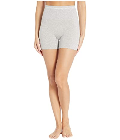 Yummie Cotton Seamless Shaping Shorts (Grey Heather) Women