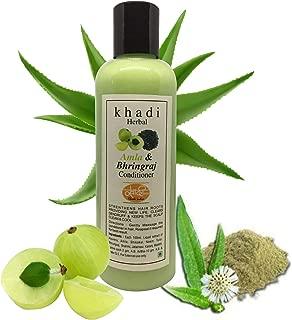 Khadi Herbal Amla Bhringraj Hair Conditioner    Paraben Free And Sulfate free - 200ml