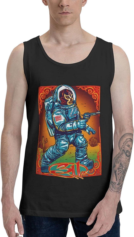 AlexBCody 311 Band Tank Top Man's Summer Sleeveless Clothes Fashion Vest
