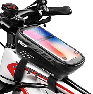 WILD MAN Bike Phone Mount Bag, Cycling Waterproof Front...