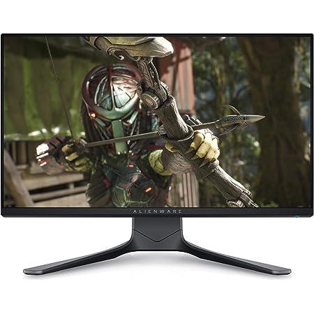 Alienware 25 AW2521HF 24.5 inch Gaming Monitor (Dark), Dark Grey- Dark Side of the Moon