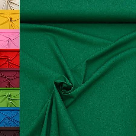 Stoff zum N/ähen Nadeltraum Baumwoll Jersey Stoff einfarbig Taupe Meterware ab 25 cm x 160 cm