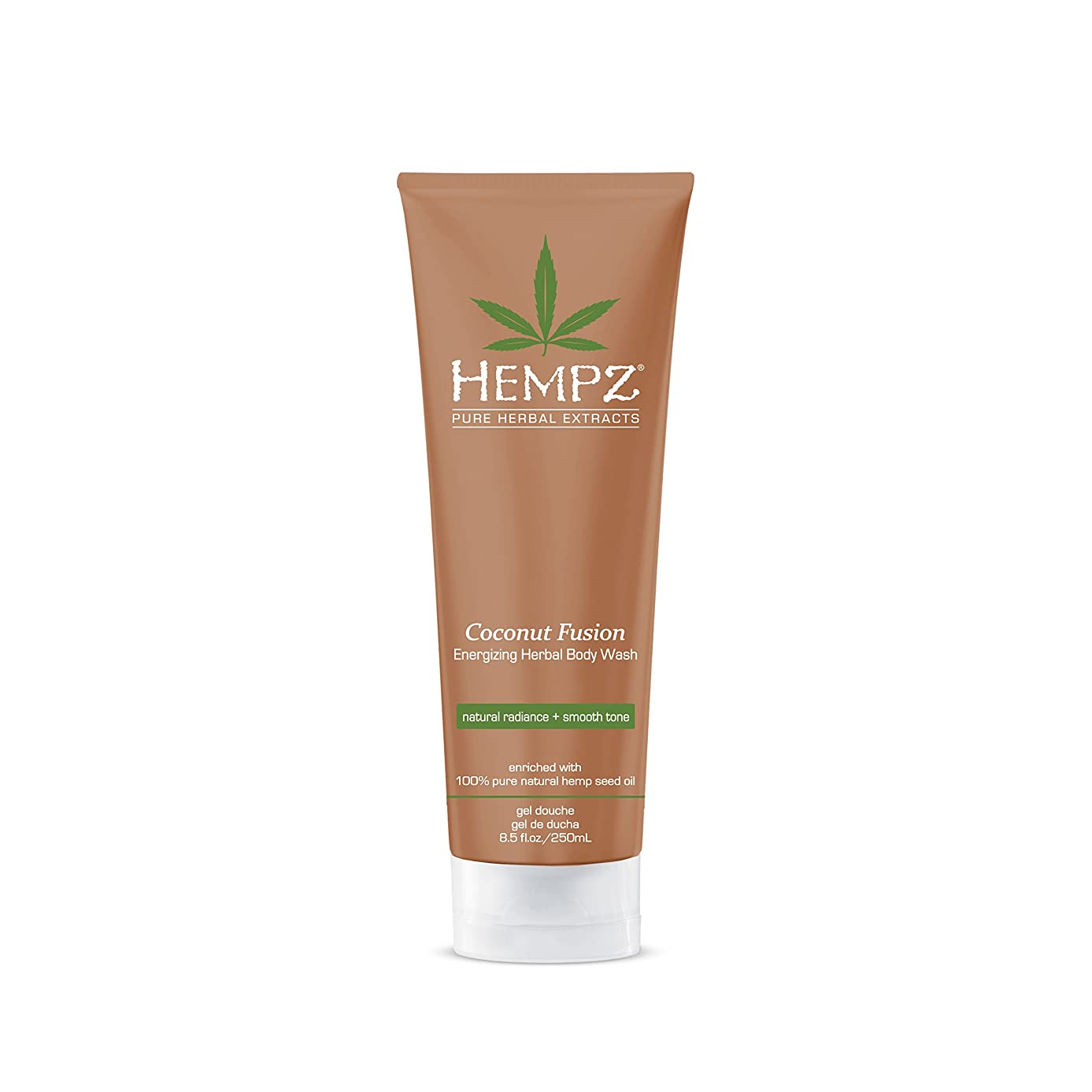 華氏スーパーアミューズメントby Hempz HERBAL BODY WASH-COCONUT FUSION 8.5 OZ by HEMPZ