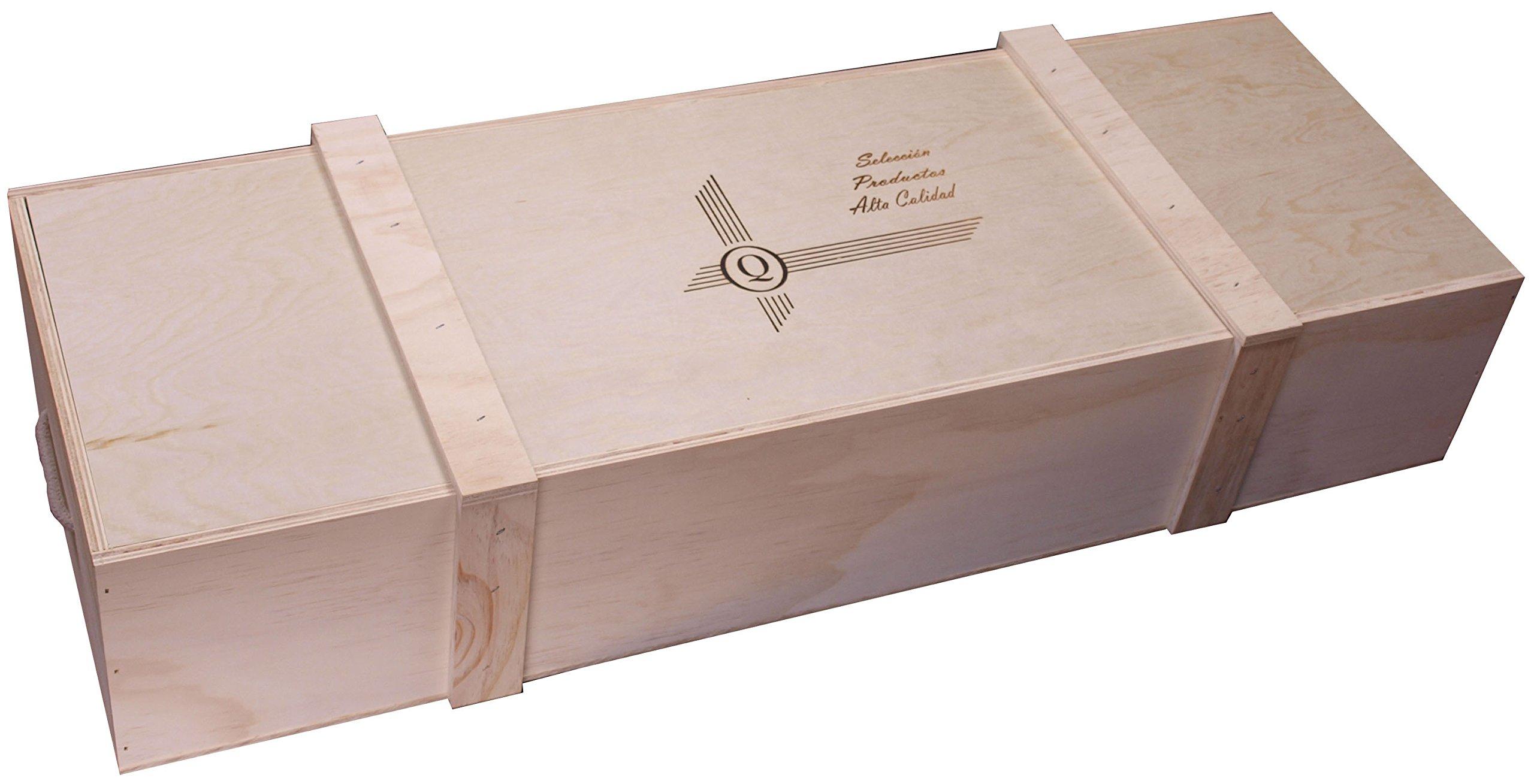 Compra Expovinalia Caja para jamón o Lote, Madera, Blanco, 0.04 cm ...
