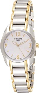 Tissot Women's White Dial Color Metal Band Watch - T023.210.22.117.00